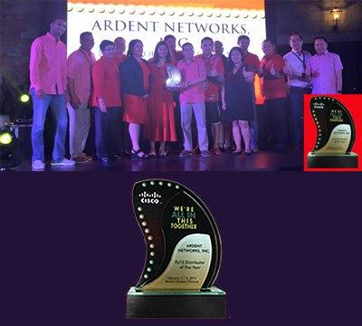 Cisco Awards FY15
